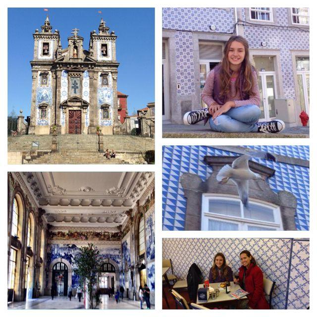 Azulejos por toda a parte em Portugal