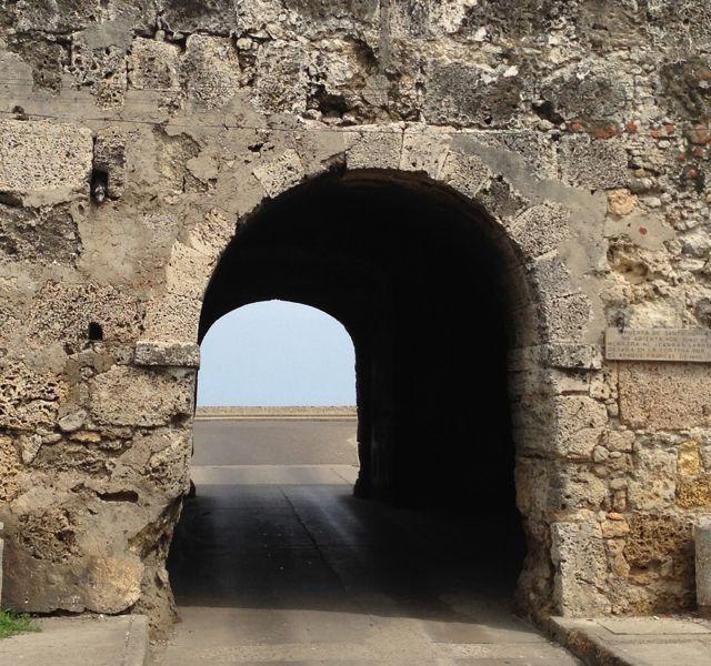 A muralha, única da América do Sul