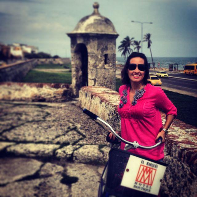 De bike pela muralha, a única de toda América do Sul!
