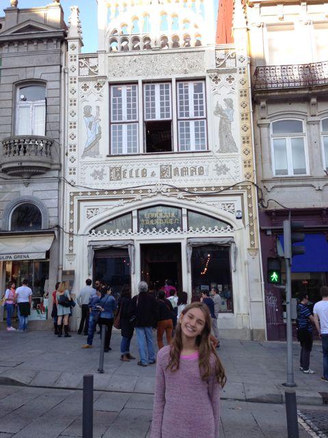 Livraria Lello & Irmão, Teria Harry Porter passado por aqui? Cidade do Porto