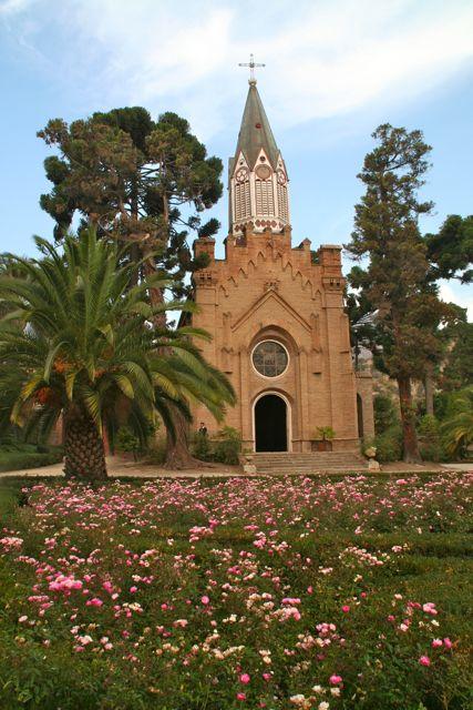 Chile-Capela-Santa-Rita-Jardim