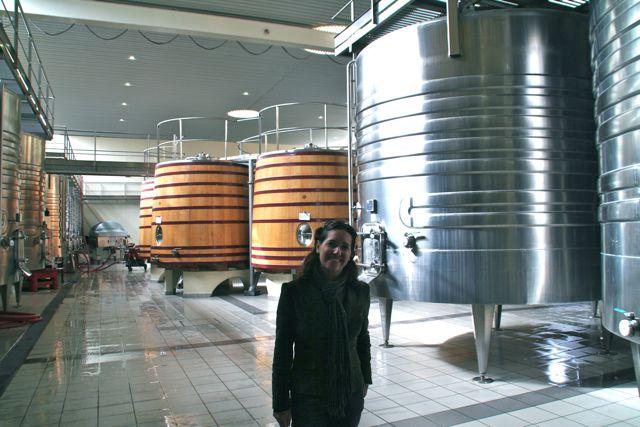 Para a fermentação alguns usam o barril de inox e para a maturação o de carvalho.