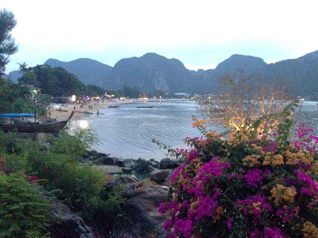 Final de tarde em Loh Dalam