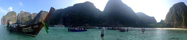 Um dia perfeito em Maya Bay