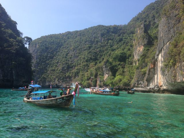 Shark Point em Phi Phi Leh