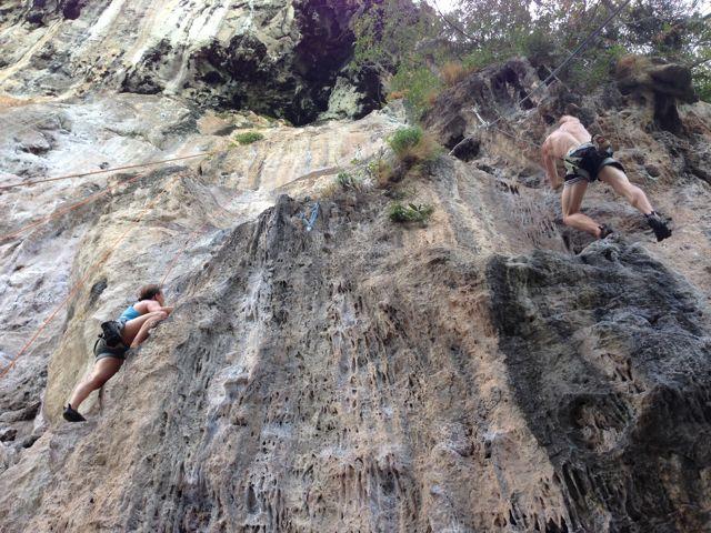 Railay-Climb-Rocks
