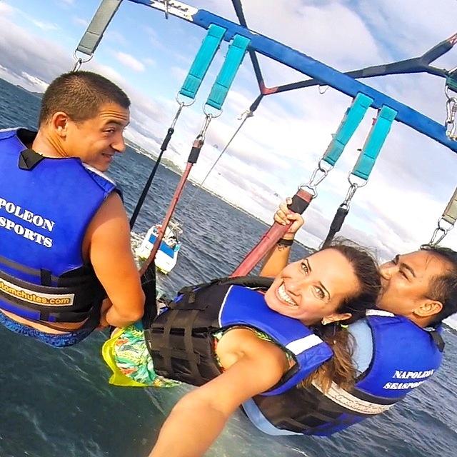 Parasailing in Boracay!