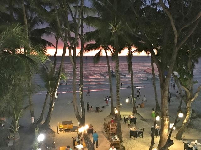 Boracay-sunset-night