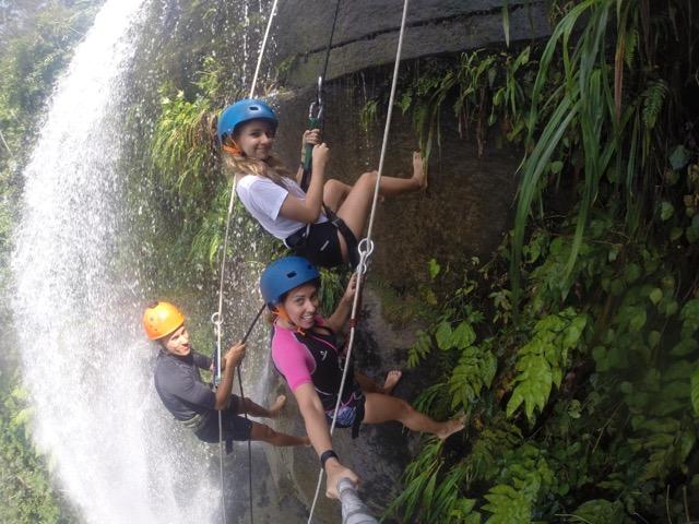 rapel da cachoeira