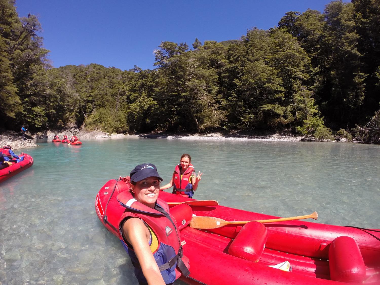 Jet boat Kayak Nova Zelândia