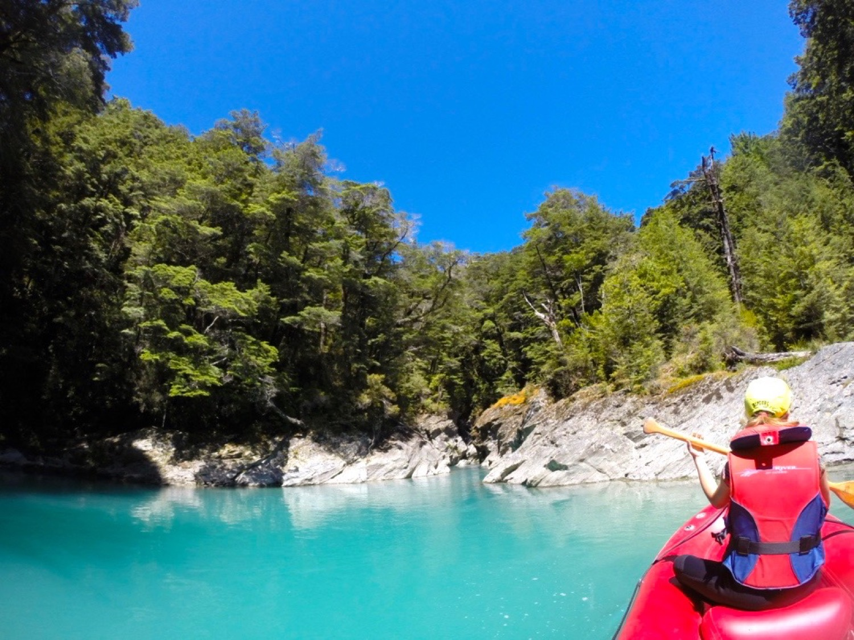 funyak kayak nova zelandia
