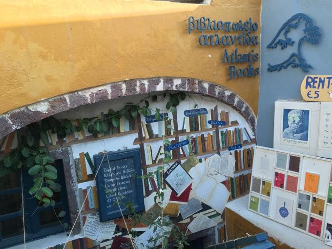 Atlantis Book livraria Santorini