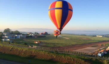passeio de balão boituva