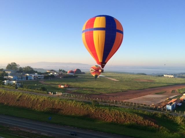 Voo de balão | Ao sabor do vento