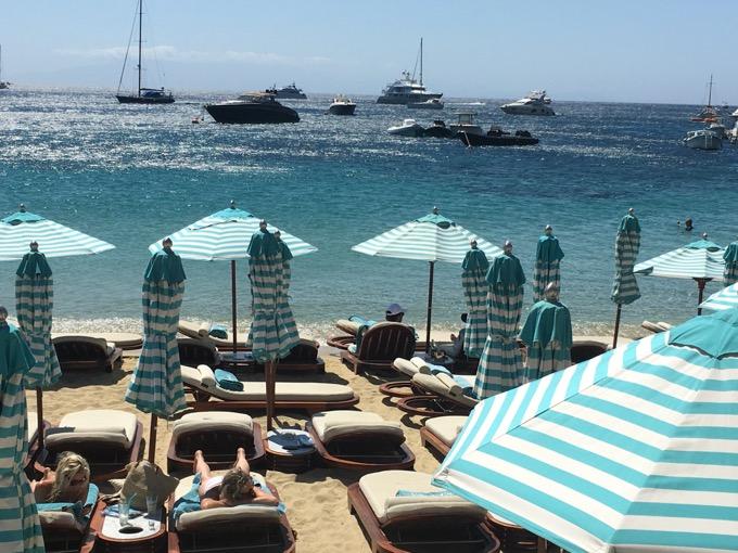 Mykonos Nammos Beach