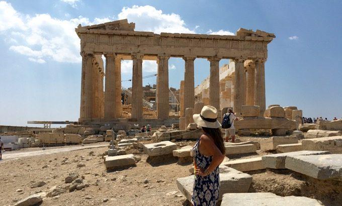 Atenas Grecia Acropole