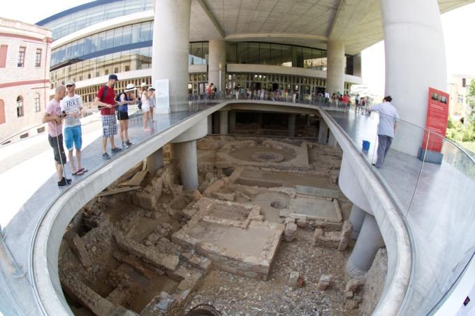 Atenas Grecia Museu Acrópole