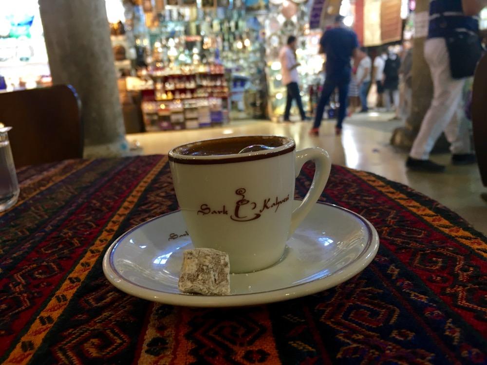 Café turco Grande Bazar Istambul