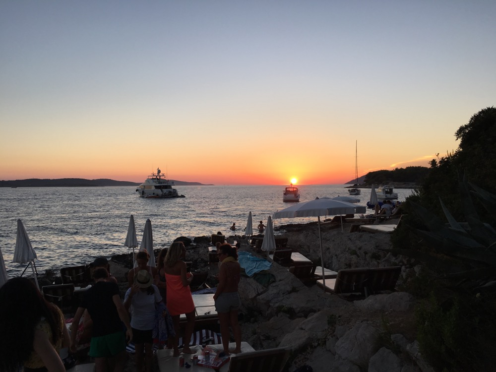 Hvar sunset