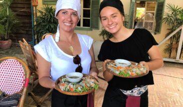 Aula de culinária em Siem Reap