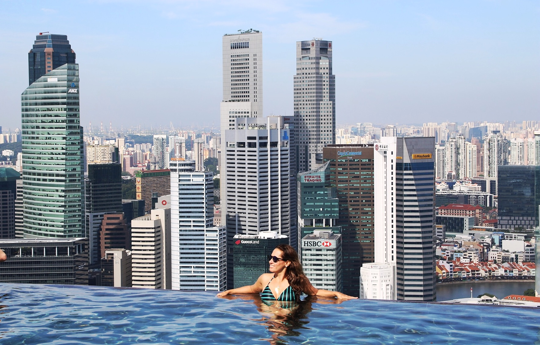 Marina bay sands review singapura viagens e outras - Marina bay sands piscina ...