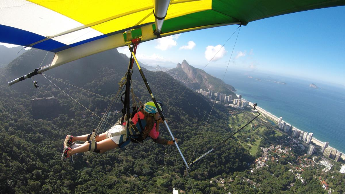 Asa delta no Rio de Janeiro