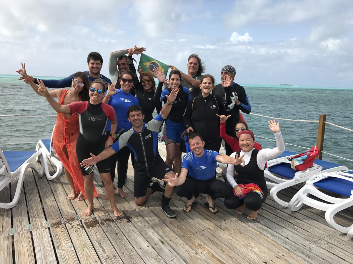 Mergulho em San Andrés