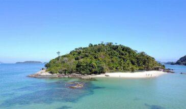 Ilhas paradisíacas em Angra dos Reis