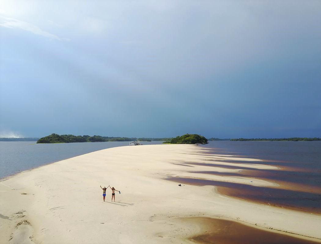 Praia de rio Anavilhanas
