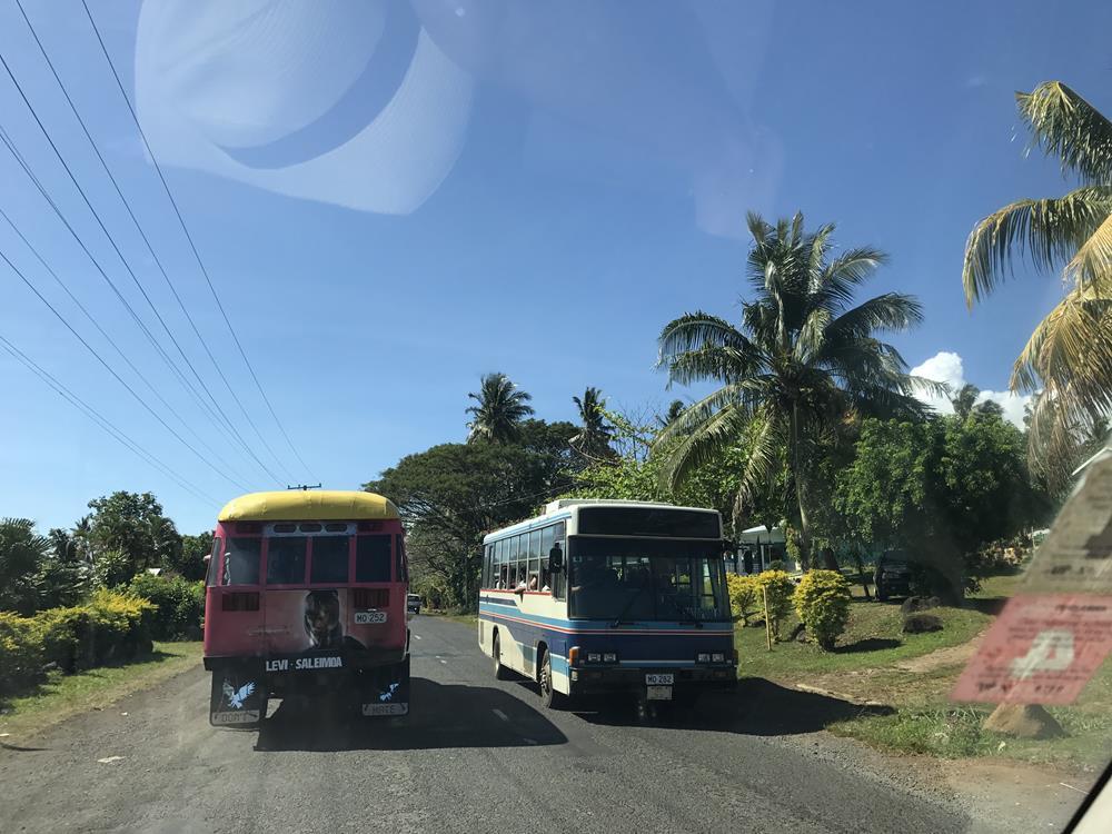 Estradas de Samoa Upolu