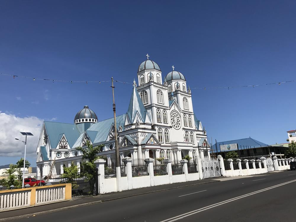 Igreja em Samoa