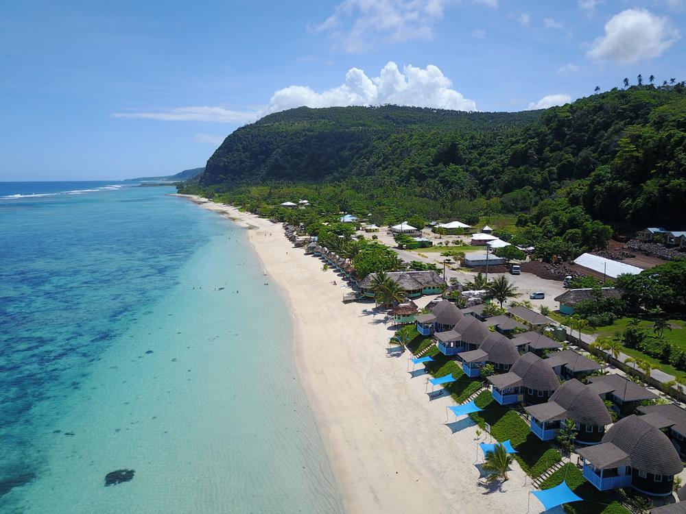 Praia Lalomanu beach Samoa