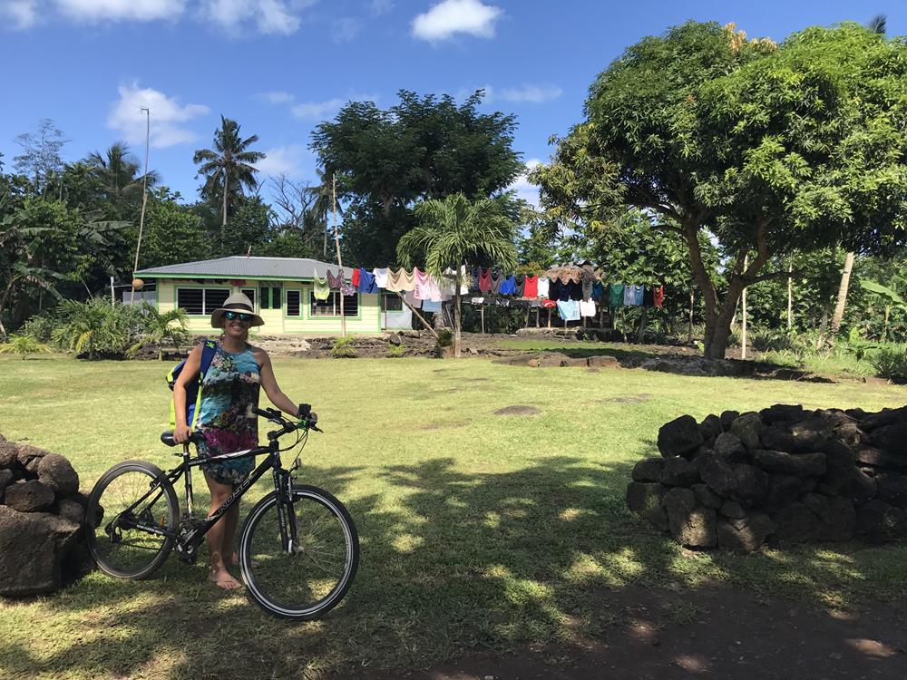 Bike em Samoa