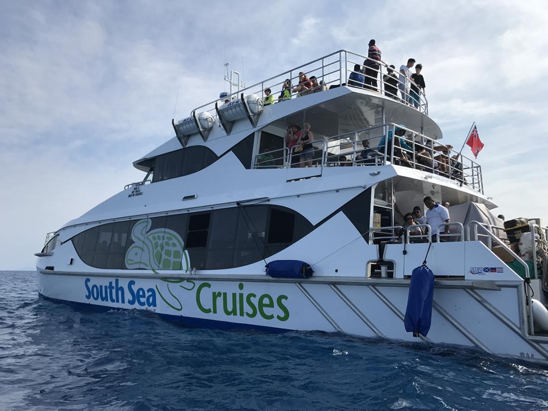 barco roteiro em Fiji