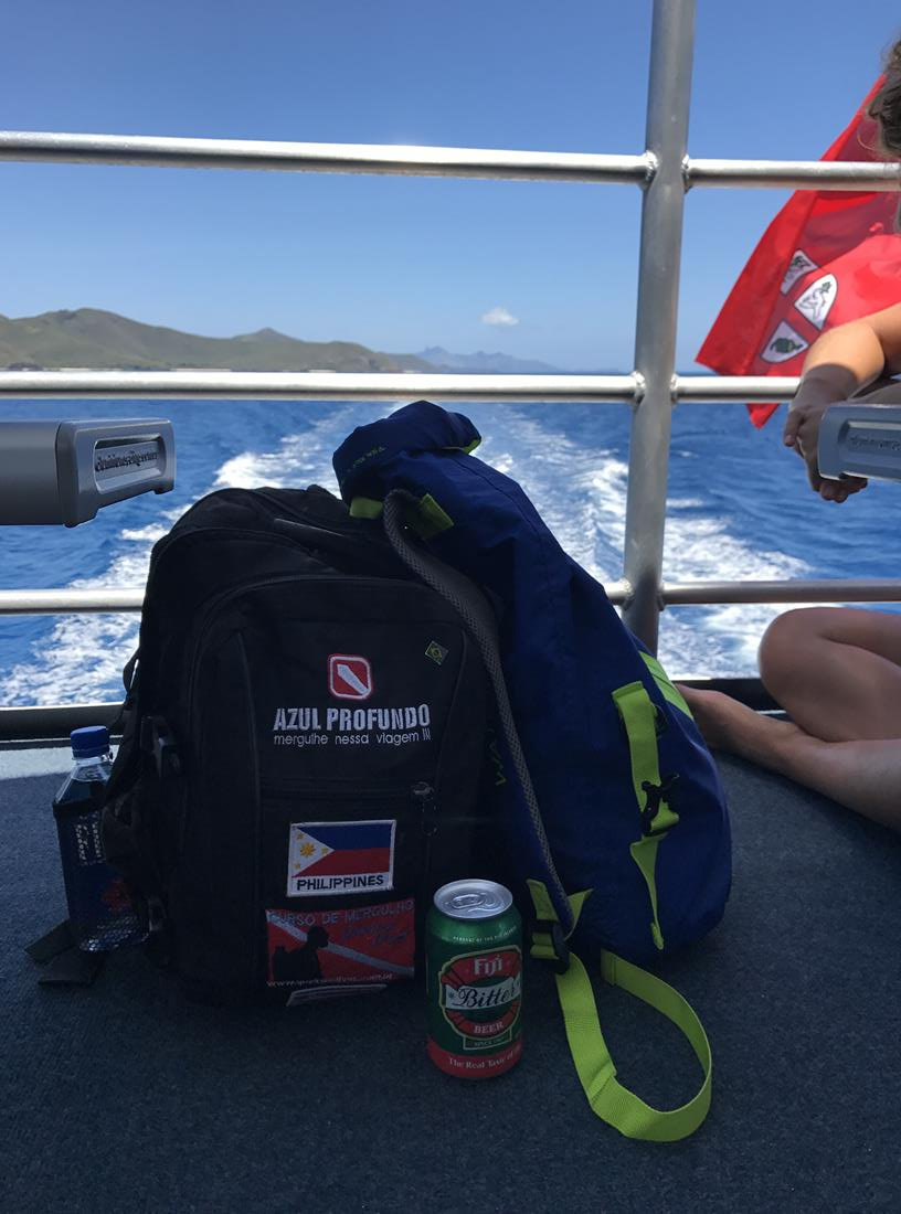 navegando em Fiji