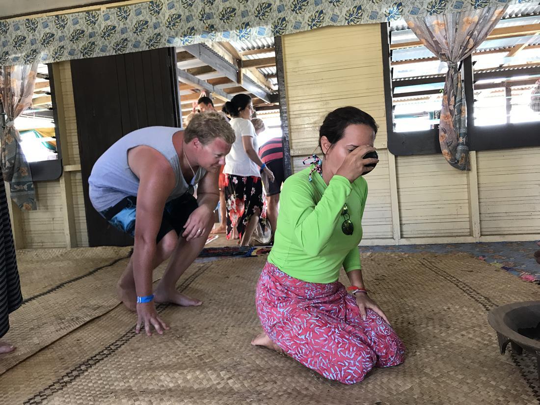 Cerimônia do Kava em Fiji