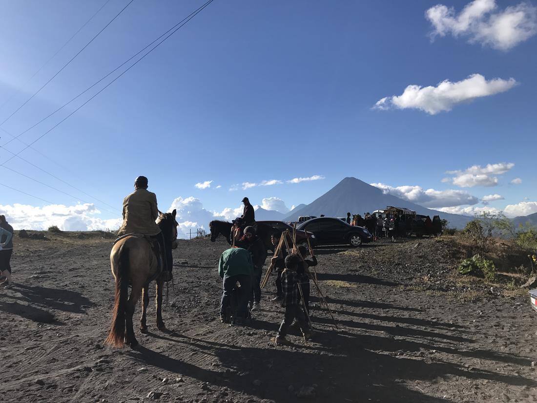 Trekking ao vulcão Pacaya