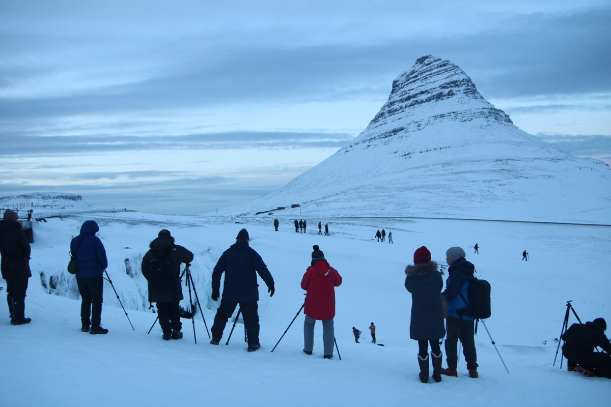 Península de Snæfellsnes na Islândia