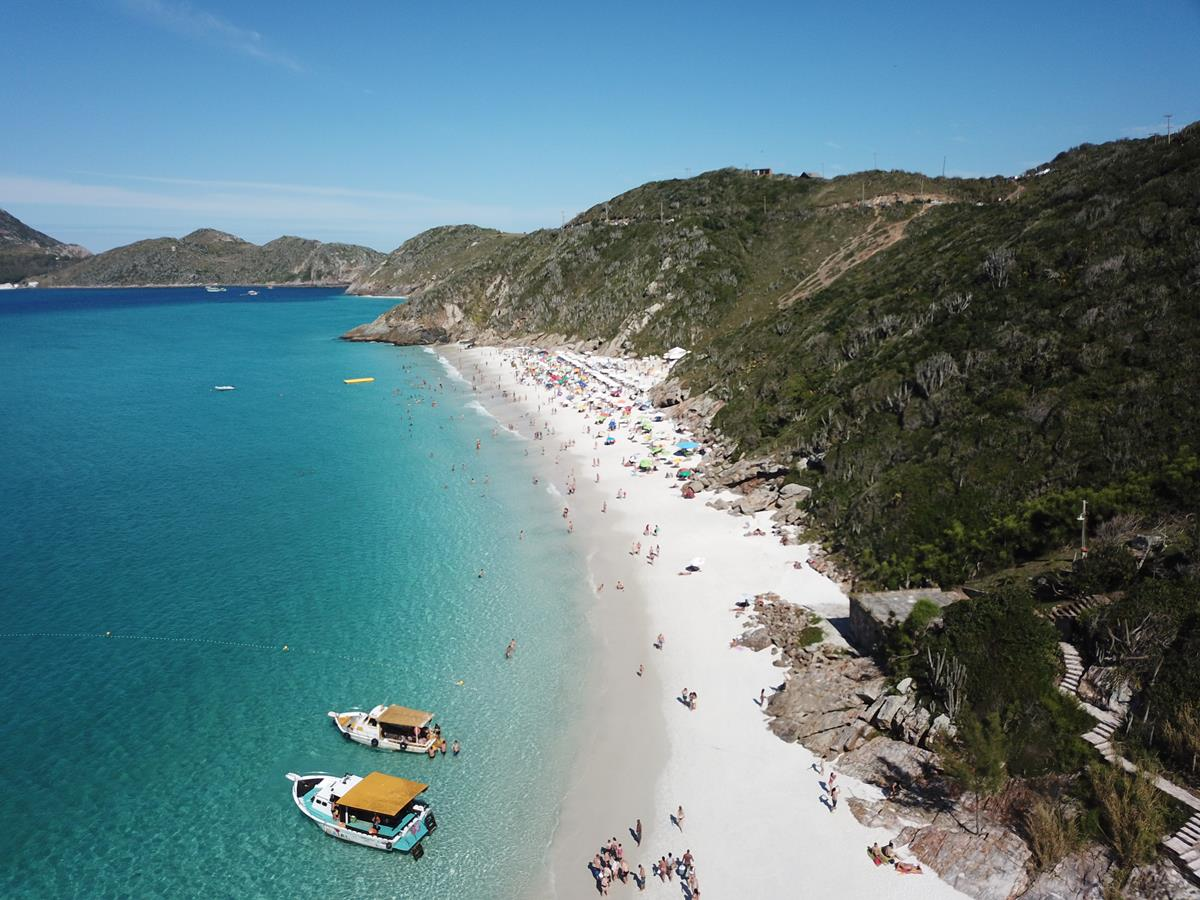 As praias mais lindas de Arraial do Cabo