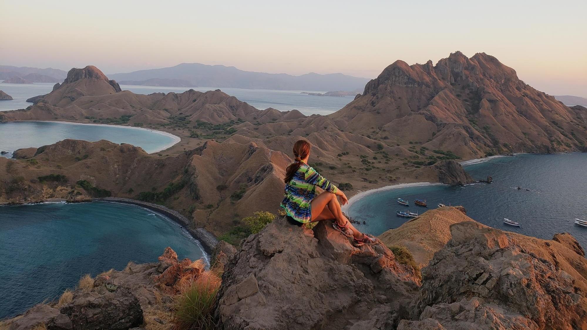 Ilha Padar em Komodo