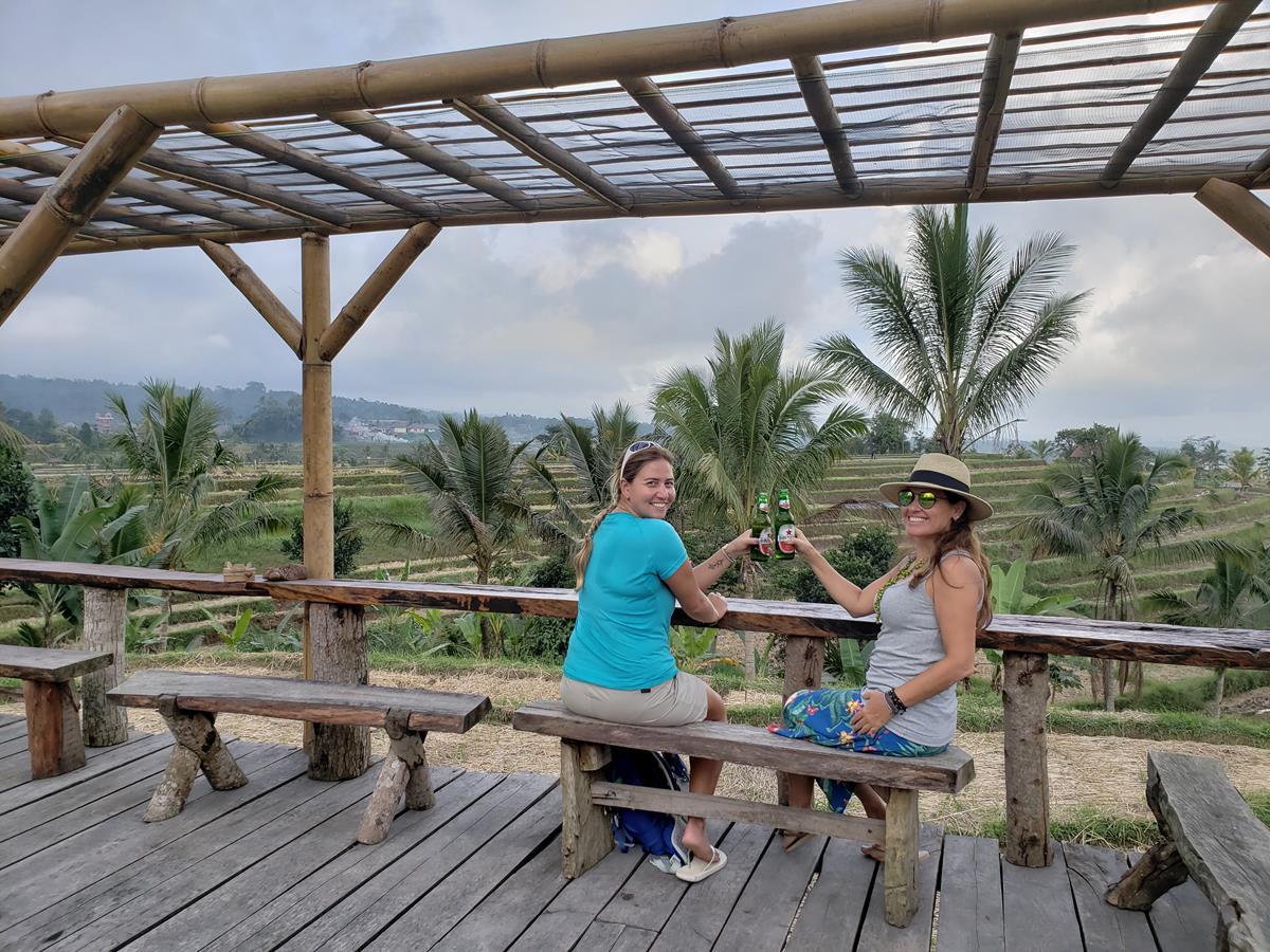 Terraços de arroz de Bali