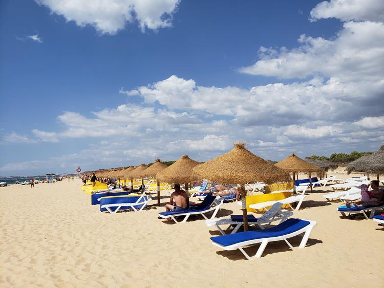 Praia da falésia Vilamoura Algarve