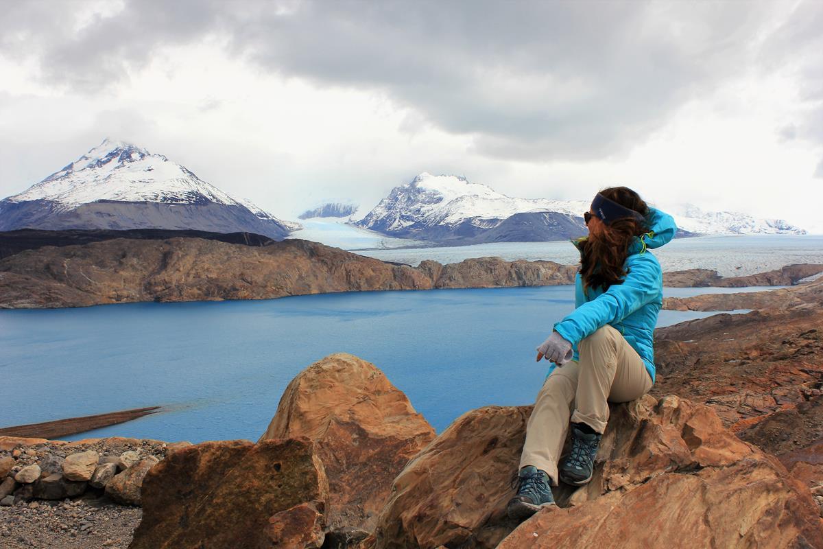 lago guilermo, estancia cristina