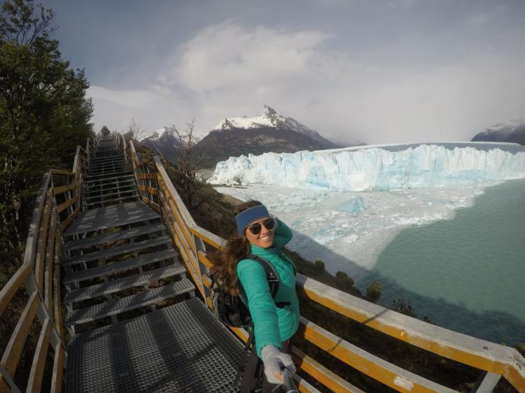 o passeio do Glacial Perito Moreno