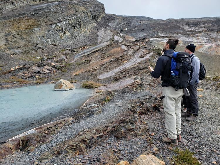 Trekking canion fosseis Estancia Cristina