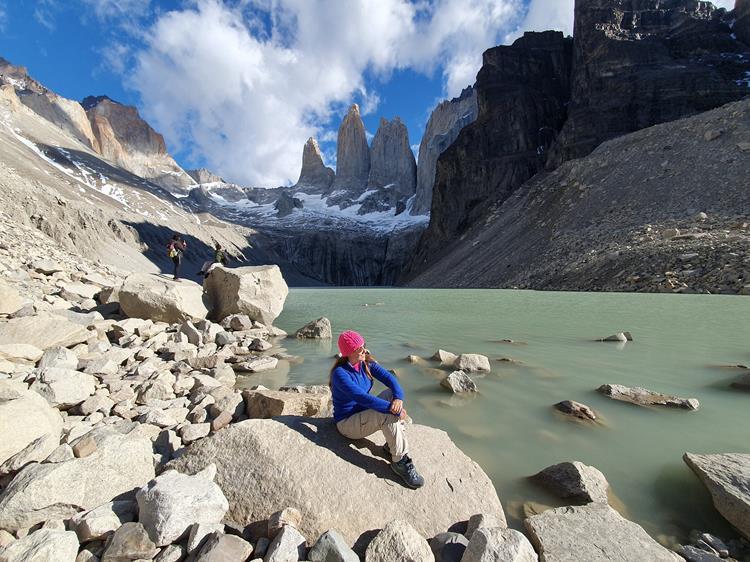 Trilha base das Torres del Paine