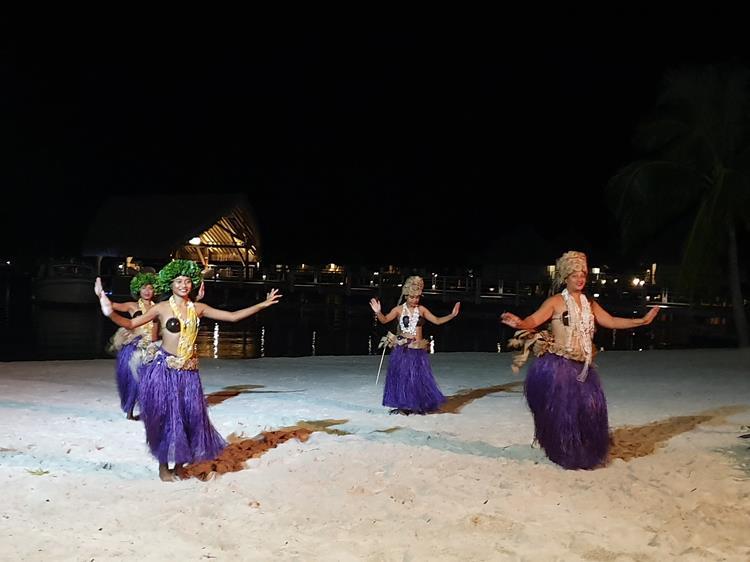 Dança polinésia