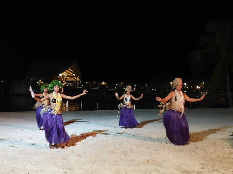 Dança polinésia Bora Bora