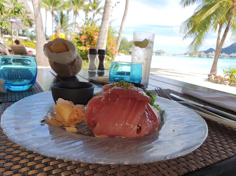 O que comer em Bora Bora
