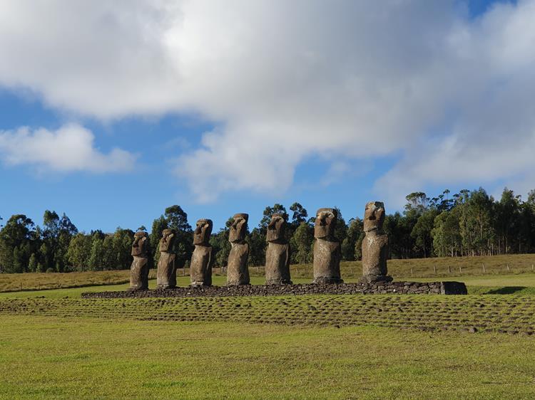 Moais Rapa Nui